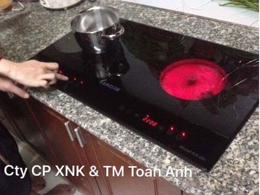 Nướng trên bếp hồng ngoại